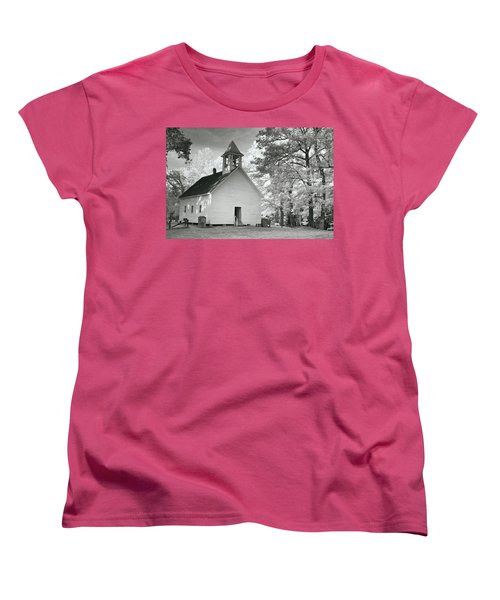 Women's T-Shirt (Standard Cut) featuring the photograph Wildwood Church by Mary Almond