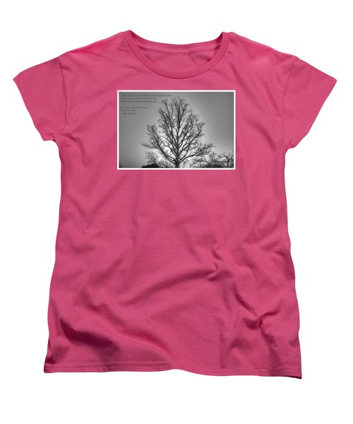 Without Hope... Women's T-Shirt (Standard Cut) by Dan Stone