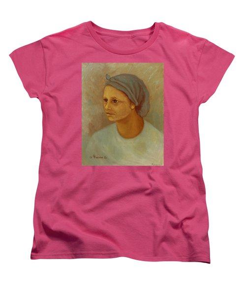 Working Woman Women's T-Shirt (Standard Cut) by Rachel Hershkovitz
