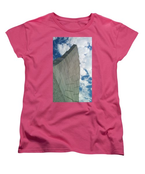 Wright Brothers Memorial Women's T-Shirt (Standard Cut) by Tony Cooper