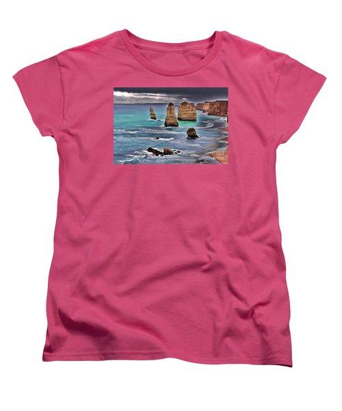 12 Apostles Women's T-Shirt (Standard Cut) by Blair Stuart
