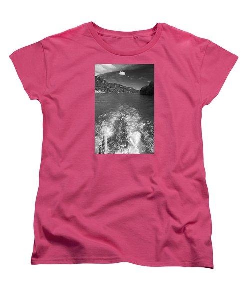 A Wake, River And Sky Women's T-Shirt (Standard Cut)