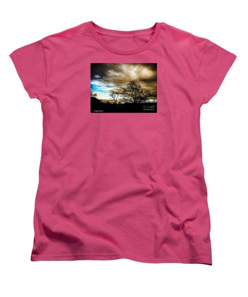 Storm  Coming  Women's T-Shirt (Standard Cut) by MaryLee Parker