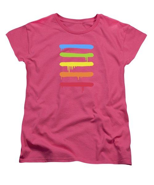 Trendy Cool Graffiti Tag Lines Women's T-Shirt (Standard Cut)