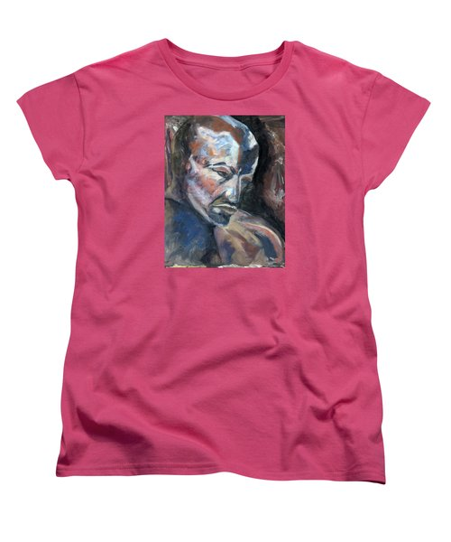 01323 Thinker Women's T-Shirt (Standard Cut) by AnneKarin Glass