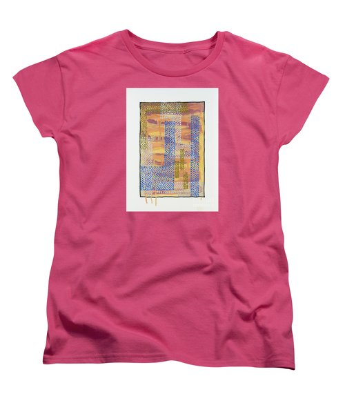 01327 Women's T-Shirt (Standard Cut) by AnneKarin Glass