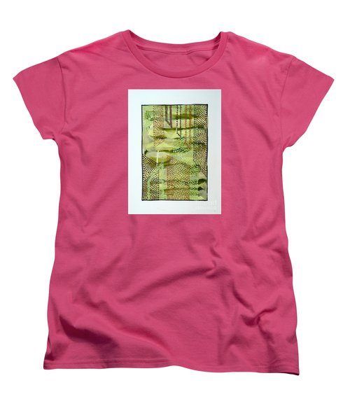 01328 Slide Women's T-Shirt (Standard Cut) by AnneKarin Glass