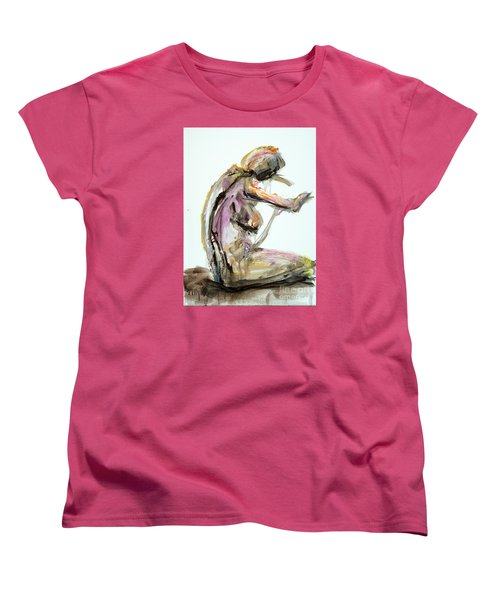 04953 Just So Women's T-Shirt (Standard Cut) by AnneKarin Glass