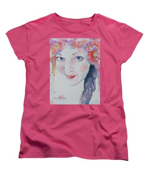 Alisha Women's T-Shirt (Standard Cut) by Mary Haley-Rocks