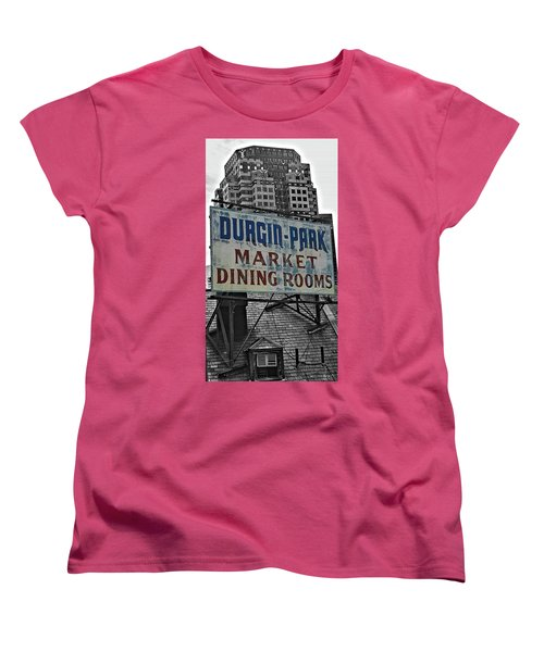 Women's T-Shirt (Standard Cut) featuring the photograph Boston Icon by Bruce Carpenter