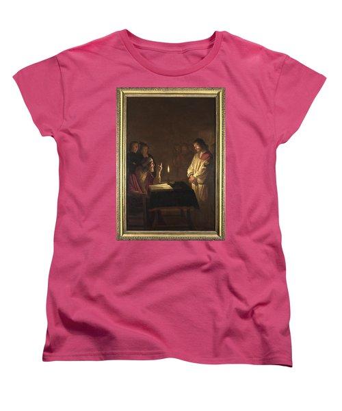 Christ Before The High Priest Women's T-Shirt (Standard Cut) by Gerrit van Honthorst