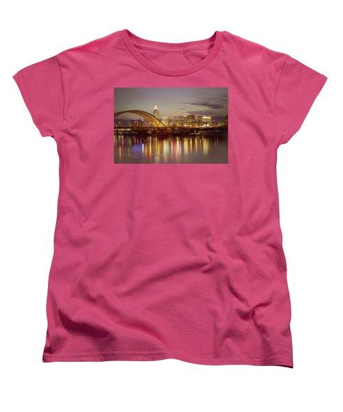 Cincinnati Women's T-Shirt (Standard Cut) by Scott Meyer