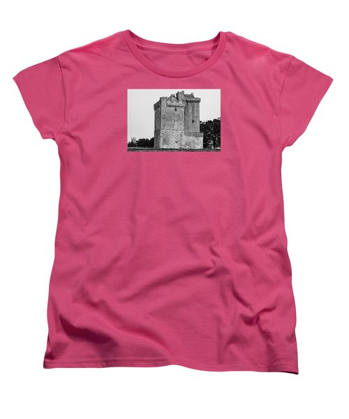 Clackmannan Tower Women's T-Shirt (Standard Cut) by Jeremy Lavender Photography