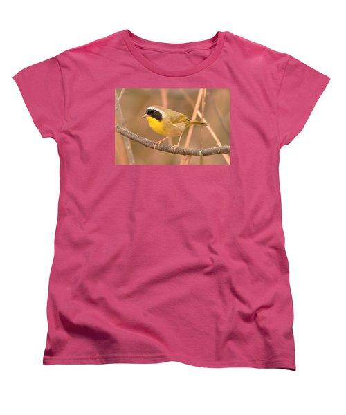 Common Yellow-throat Women's T-Shirt (Standard Cut) by Alan Lenk