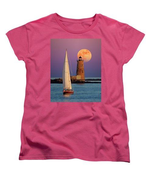 Convergence Women's T-Shirt (Standard Cut) by Larry Landolfi