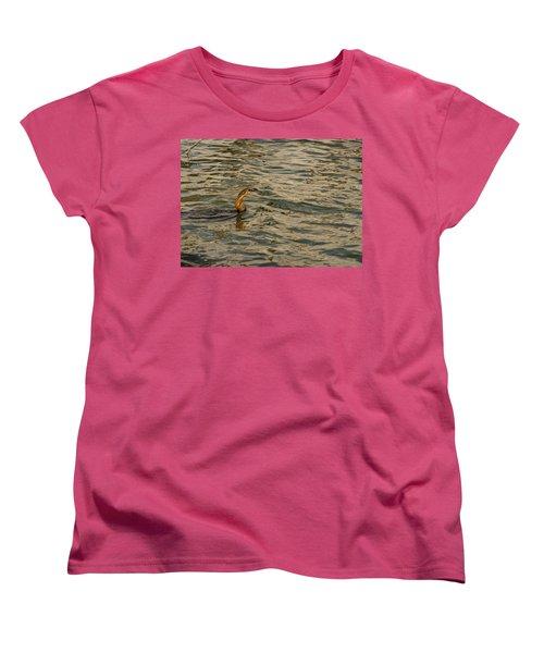 Caught Women's T-Shirt (Standard Cut) by Patrick Kain