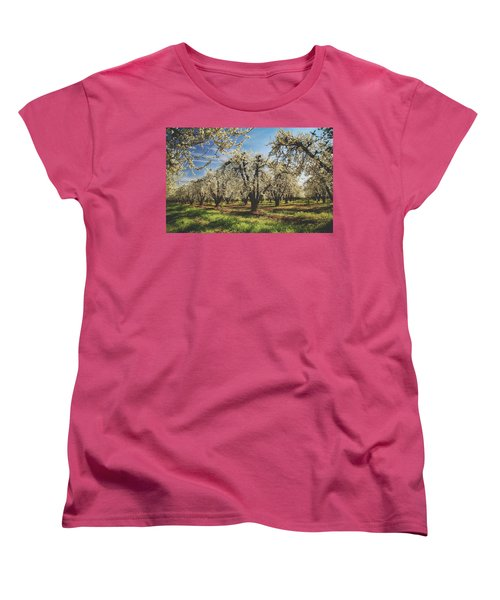 Women's T-Shirt (Standard Cut) featuring the photograph Everything Is New Again by Laurie Search