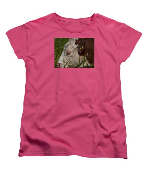 Women's T-Shirt (Standard Cut) featuring the photograph Face by Leif Sohlman