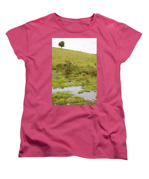 Women's T-Shirt (Standard Cut) featuring the photograph Fairy Tree In Ireland by Ian Middleton