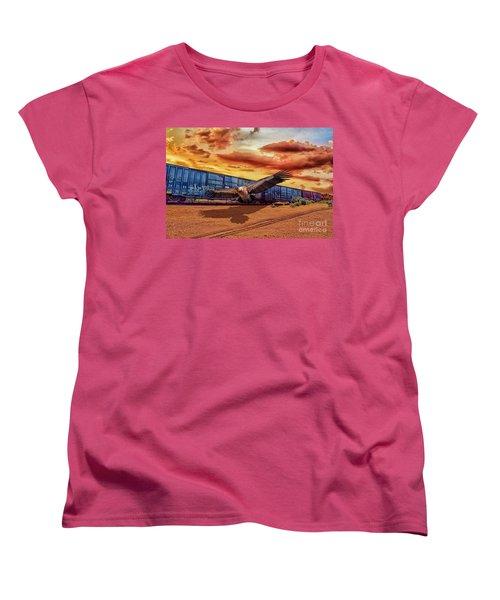Forsaken Women's T-Shirt (Standard Cut) by Billie-Jo Miller