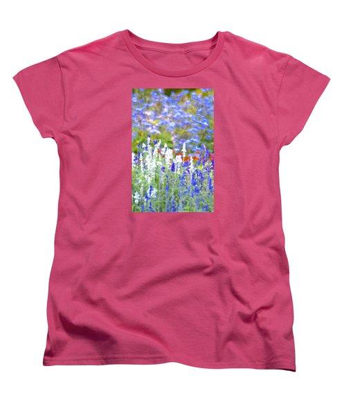 Garden Impression Women's T-Shirt (Standard Cut) by Tim Good