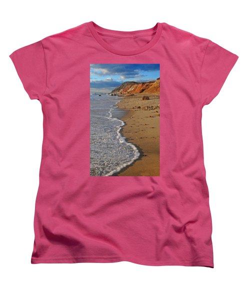 Gayhead Cliffs Marthas Vineyard Women's T-Shirt (Standard Cut) by Dave Mills