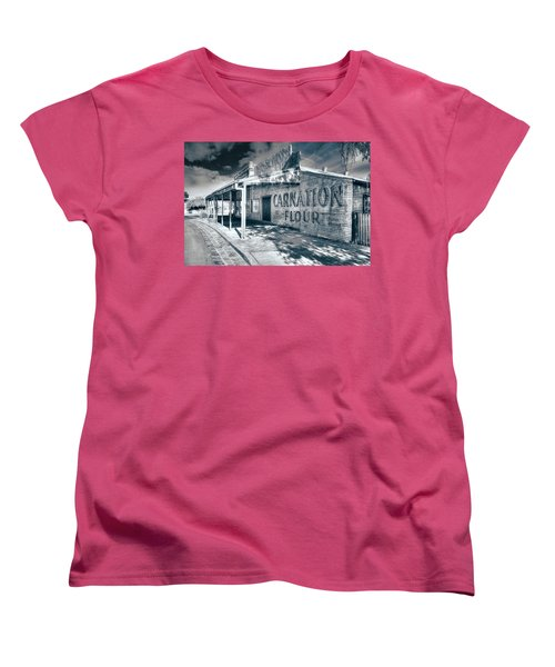 Women's T-Shirt (Standard Cut) featuring the photograph General Store by Wayne Sherriff