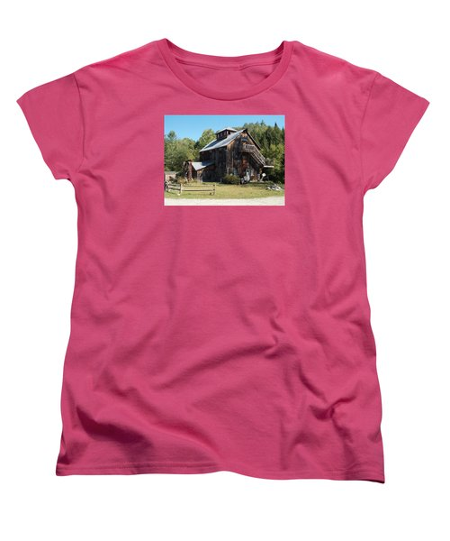 Grist Mill Women's T-Shirt (Standard Cut) by Catherine Gagne