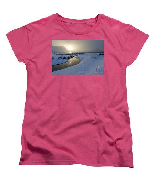 Haukland Beach, Lofoten Women's T-Shirt (Standard Cut) by Dubi Roman
