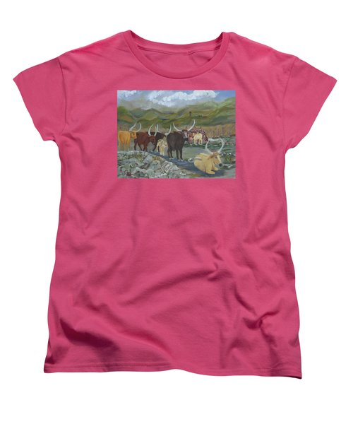 Home On The Range Women's T-Shirt (Standard Cut)