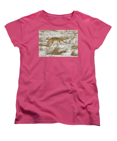Hunting Women's T-Shirt (Standard Cut) by Scott Warner