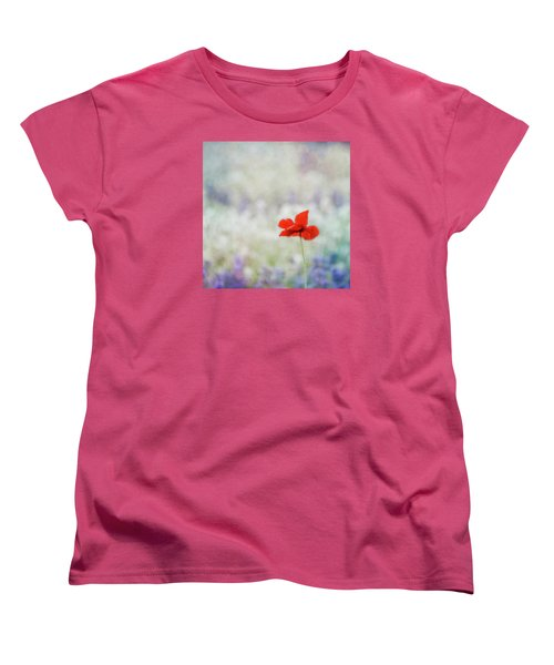Women's T-Shirt (Standard Cut) featuring the photograph I Wish by Robin Dickinson