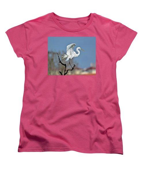 I'll Fly Away Women's T-Shirt (Standard Cut) by Carol Bradley