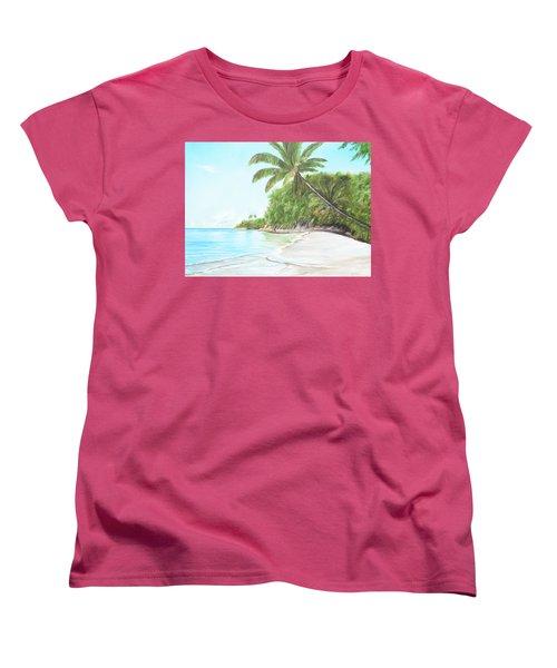 In Paradise Women's T-Shirt (Standard Cut) by Lloyd Dobson