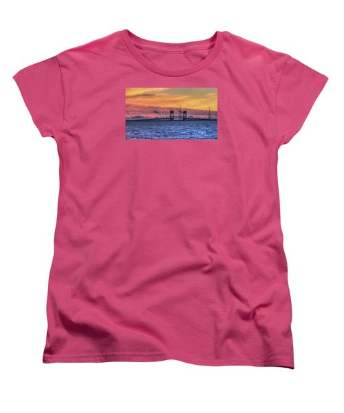 James River Bridge Women's T-Shirt (Standard Cut) by Jerry Gammon
