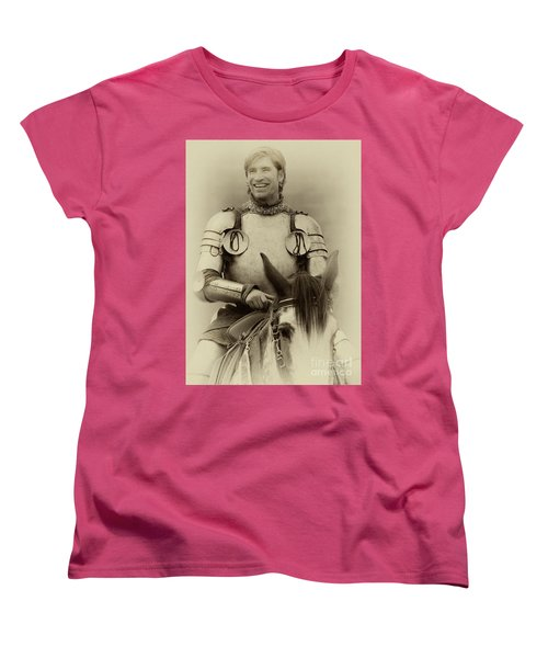 Women's T-Shirt (Standard Cut) featuring the photograph Knights Of Old 12 by Bob Christopher