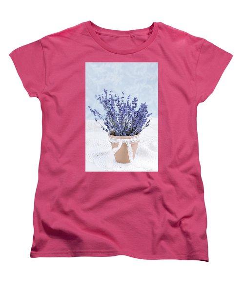Lavender Women's T-Shirt (Standard Cut)