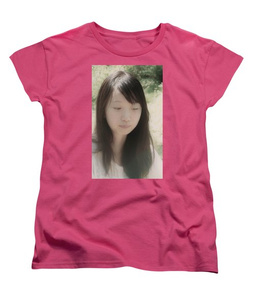 Women's T-Shirt (Standard Cut) featuring the photograph Lost In Thought by Tim Ernst