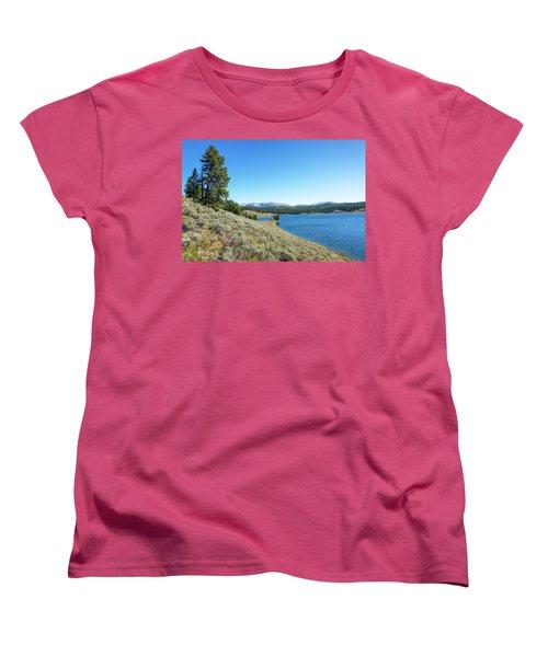 Meadowlark Lake View Women's T-Shirt (Standard Cut)