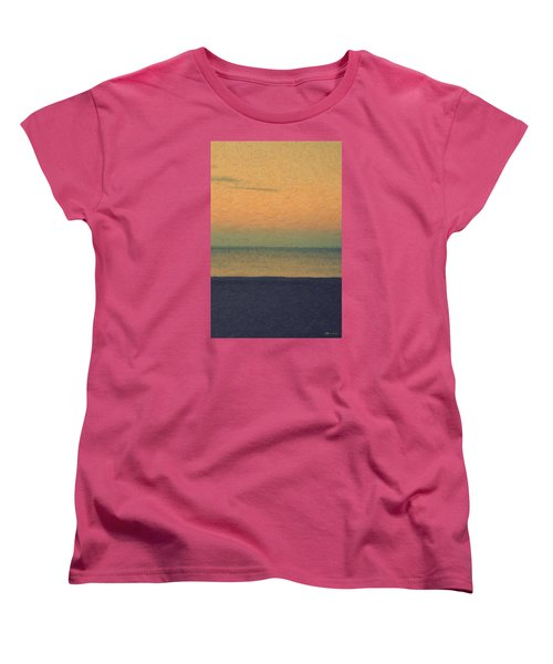 Not Quite Rothko - Breezy Twilight Women's T-Shirt (Standard Cut) by Serge Averbukh