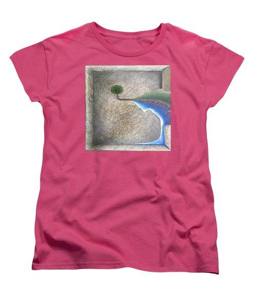 Pillow Women's T-Shirt (Standard Cut) by Steve  Hester