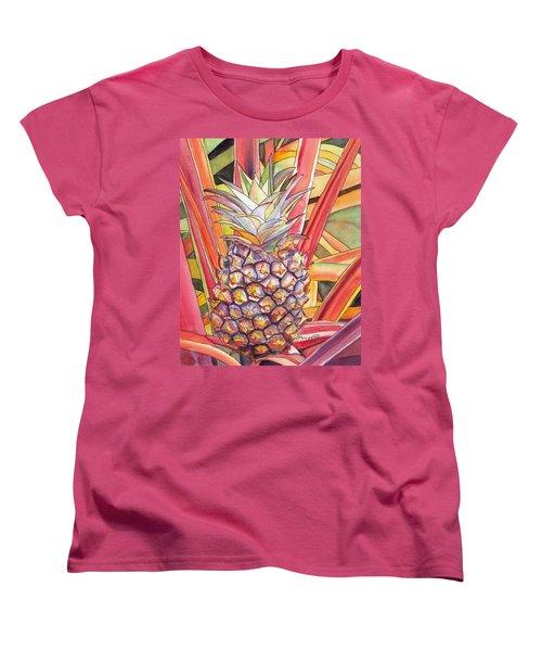 Pineapple Women's T-Shirt (Standard Cut)