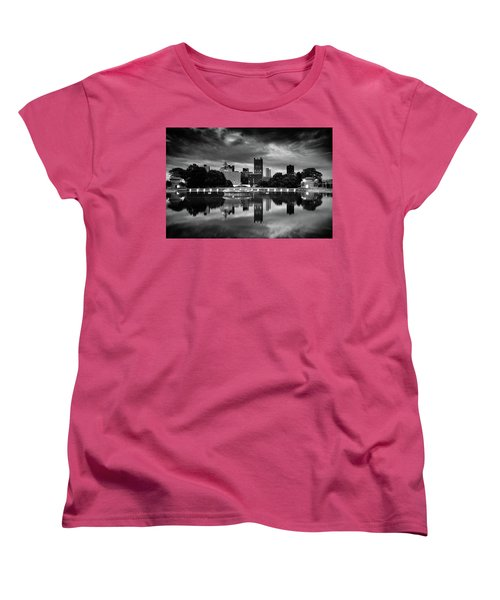Pittsburgh  Reflections  Women's T-Shirt (Standard Cut) by Emmanuel Panagiotakis