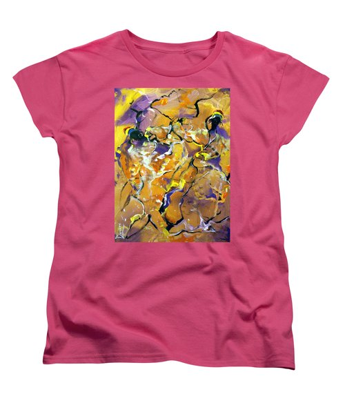 Praise Dance Women's T-Shirt (Standard Cut) by Raymond Doward