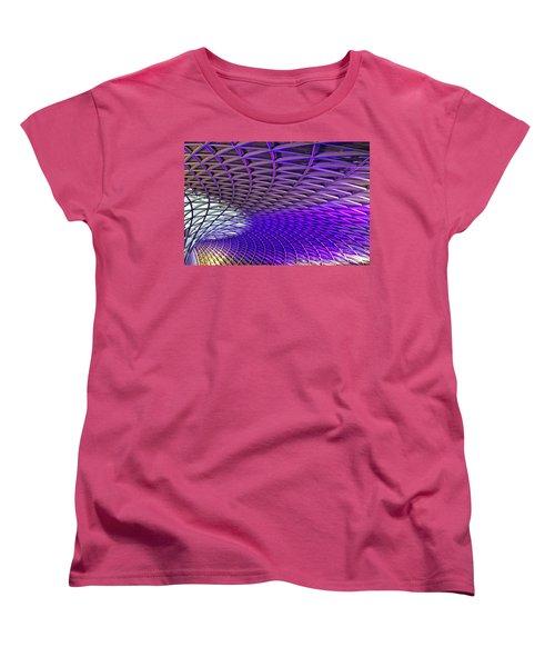 Roof Design Women's T-Shirt (Standard Cut) by Shirley Mitchell