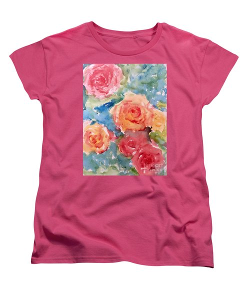 Roses Women's T-Shirt (Standard Cut) by Trilby Cole