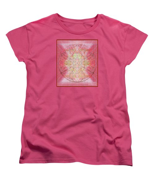 Sacred Symbols Out Of The Void 1b Women's T-Shirt (Standard Cut) by Christopher Pringer