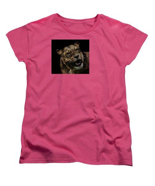 Smile Women's T-Shirt (Standard Cut) by Martin Newman