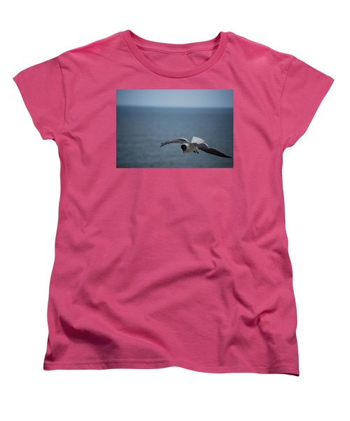 Women's T-Shirt (Standard Cut) featuring the photograph Soaring by Debbie Karnes