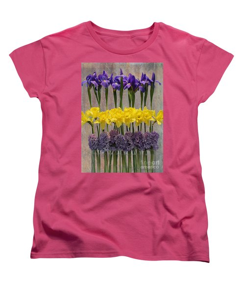 Spring Delights Women's T-Shirt (Standard Cut) by Nina Silver